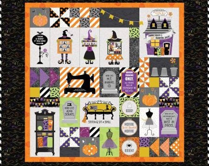 Candy Corn Quilt Shoppe Fabric Only Kit by Kimberbell