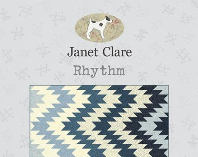 Rhythm Quilt Pattern by Janet Clare