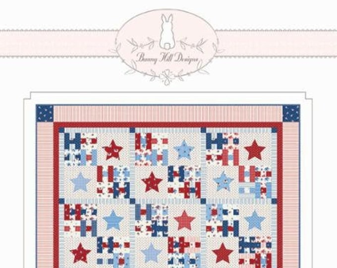 Made In The USA Quilt Pattern by Bunny Hill Designs