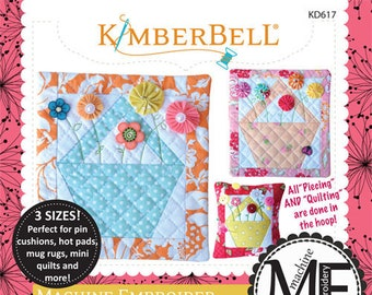 Machine Embroider By Number: Baskets Machine Embroidery CD by Kimberbell