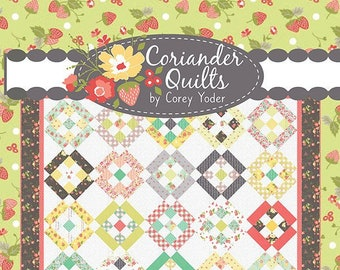 In Addition Quilt Pattern by Corey Yoder for Coriander Quilts