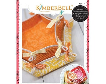 Quilted Baskets Machine Embroidery CD by Kimberbell