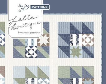 New Leaf Quilt Pattern by Lella Boutique