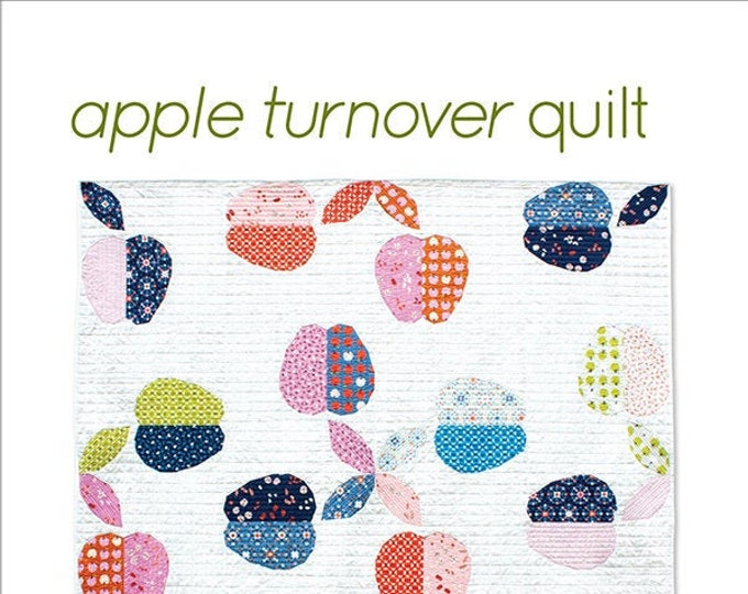 Apple Turnover Quilt Pattern by Whole Circle Studio