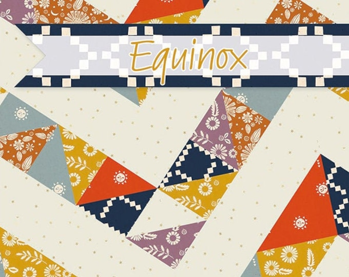 Equinox Quilt Pattern by It's Sew Emma