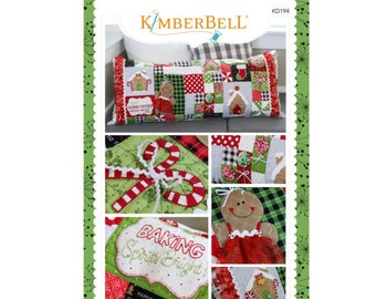 Ginger's Kitchen Bench Pillow Sewing Book by Kimberbell