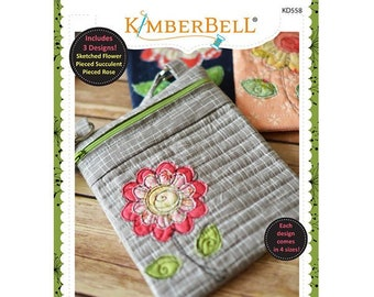 Crossbody Bag Trio Volume 2: Botanical Collection Machine Embroidery CD by Kimberbell