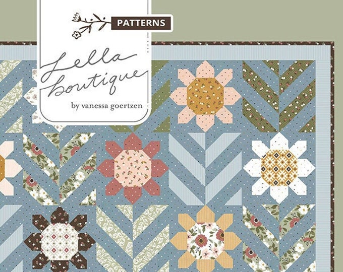 Spring Fling Quilt Pattern by Lella Boutique
