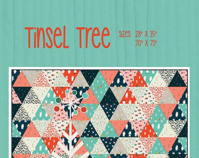 Tinsel Tree Quilt Pattern by Everyday Stitches