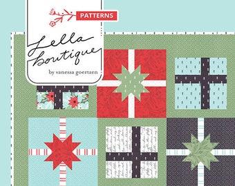 Hustle and Bustle Quilt Pattern by Vanessa Goertzen for Lella Boutique