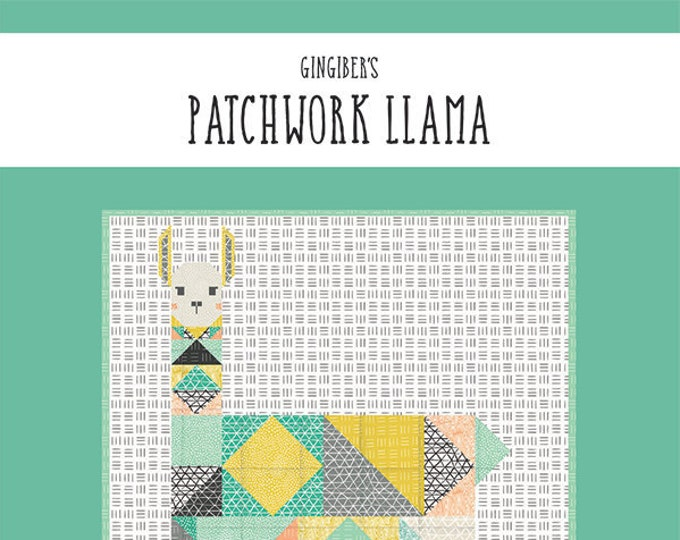 Patchwork Llama Quilt Pattern by Gingiber
