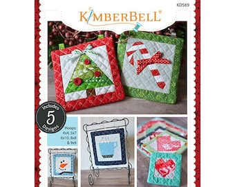 Machine Embroidery by Number: Winter Collection by Kimberbell