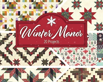 Winter Manor Quilt Book by Doug Leko