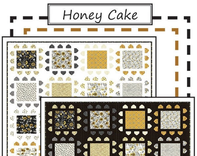 Honey Cake Quilt Pattern by Coach House Designs