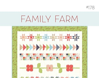 Family Farm Quilt Pattern by A Quilting Life Designs