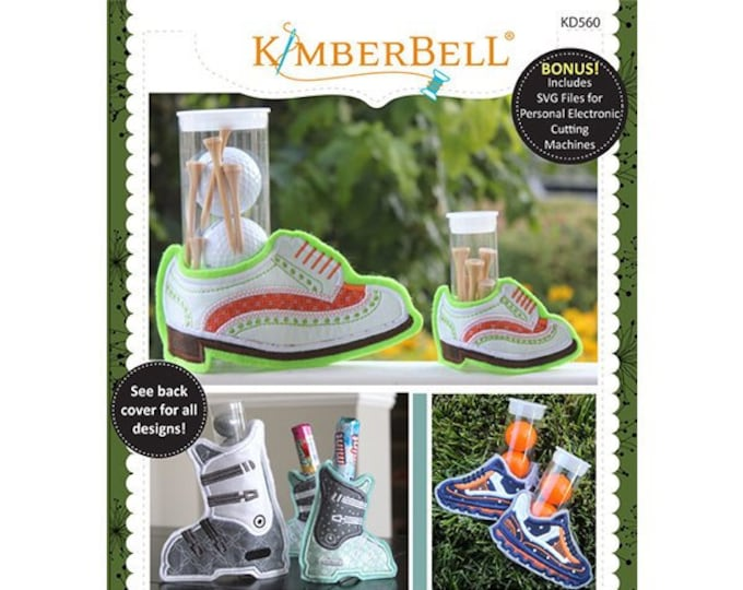 Sweet Feet Collection Vol 2 Machine Embroidery CD by Kimberbell
