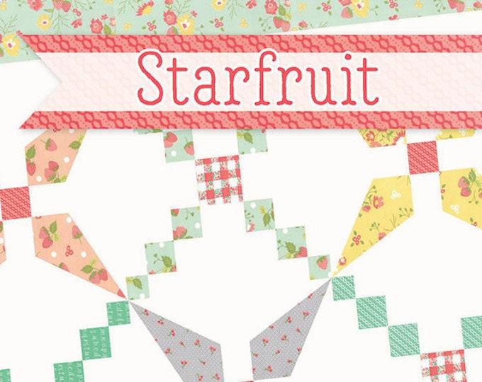 Starfruit Quilt Pattern by Jocelyn Ueng for It's Sew Emma
