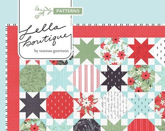 Starstruck Quilt Pattern by Vanessa Goertzen for Lella Boutique