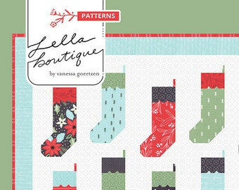 By The Chimney Quilt Pattern by Vanessa Goertzen for Lella Boutique