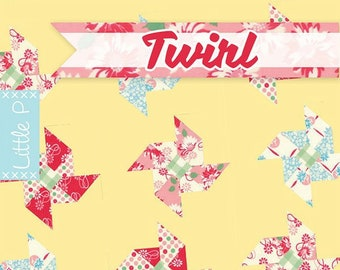 Twirl Quilt Pattern by It's Sew Emma