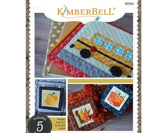 Machine Embroidery By Number Autumn Collection Machine Embroidery CD by Kimberbell