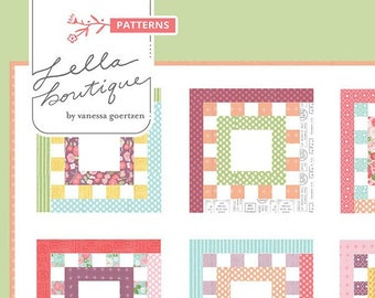 Square Dance Quilt Pattern by Vanessa Goertzen for Lella Boutique