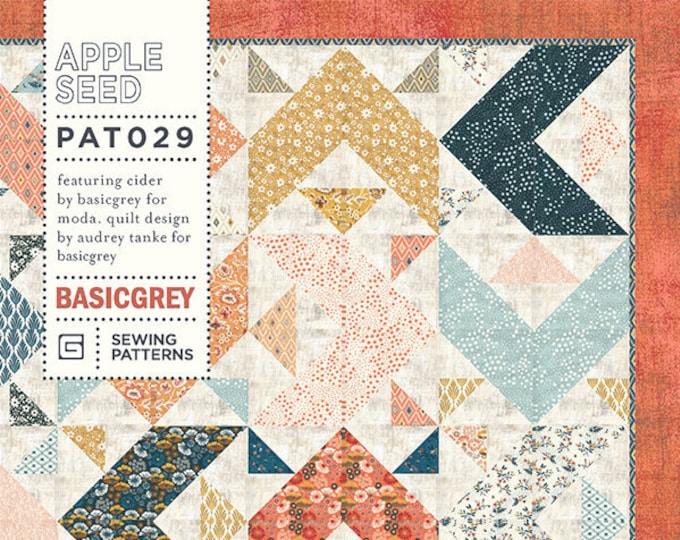 Apple Seed Quilt Pattern by Basicgrey