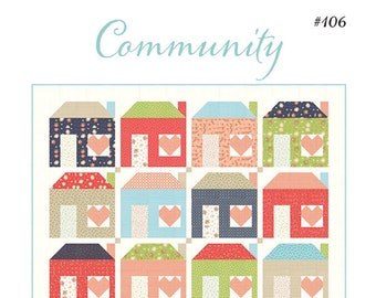 Community Quilt Pattern by Chelsi Stratton Designs