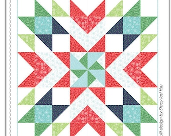 First Snow Quilt Pattern by Stacy Iest Hsu