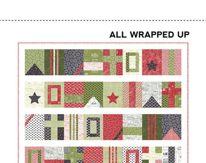 All Wrapped Up Quilt Pattern by Sweetwater