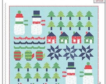 Snowman Sampler Quilt Pattern by Stacy Iest Hsu