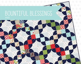 Bountiful Blessings Quilt Pattern by April Rosenthal for Prairie Grass Patterns