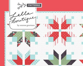 Icebox Quilt Pattern by Vanessa Goertzen for Lella Boutique