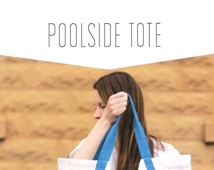 Poolside Tote Pattern by Noodlehead