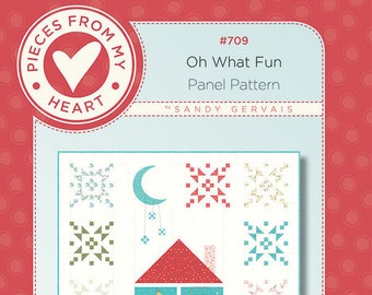 Oh What Fun Quilt Pattern by Sandy Gervais