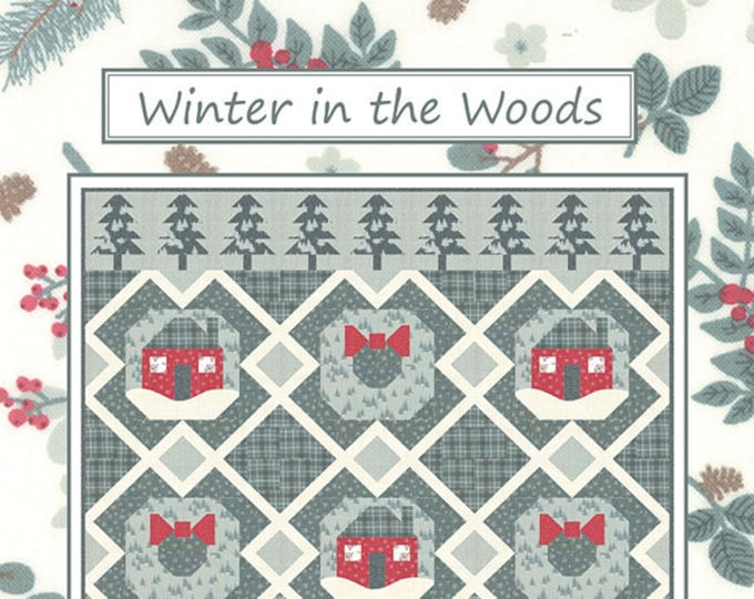 Winter In The Woods Quilt Pattern by Coach House Designs
