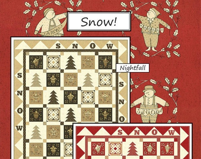 Snow! Quilt Pattern by Coach House Designs