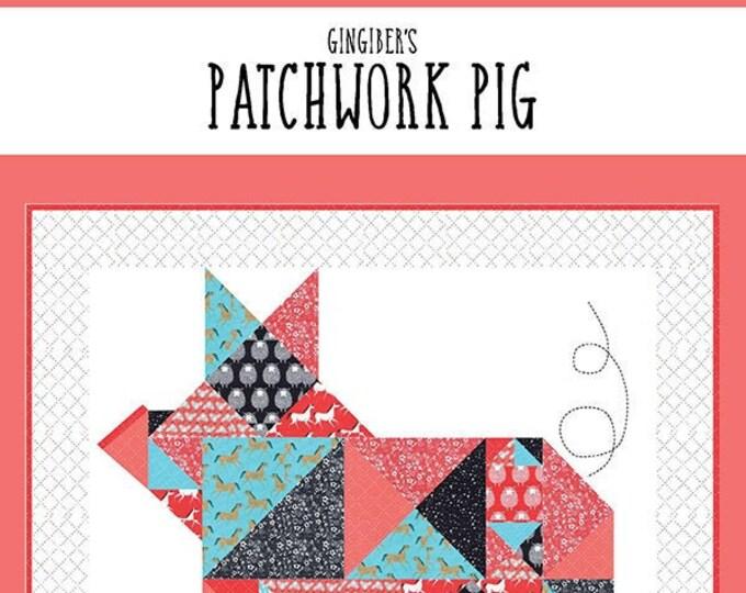 Gingiber's Patchwork Pig Quilt Pattern