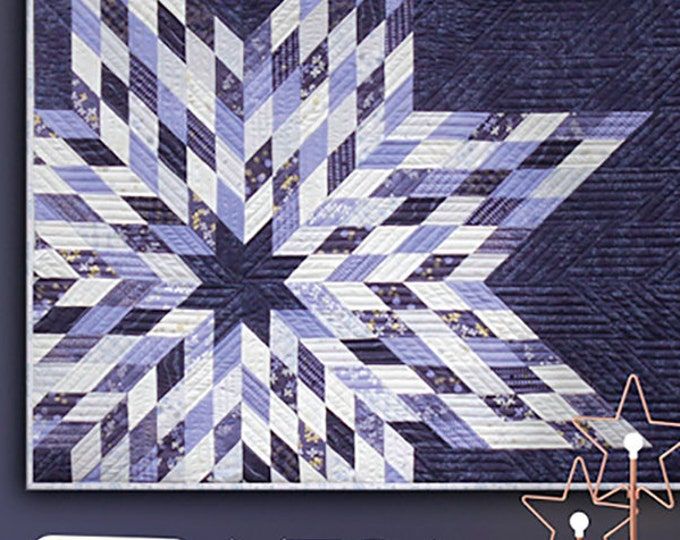 Mega Star 2 Quilt Pattern by Zen Chic