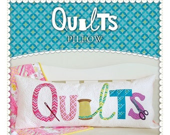 Quilts Bench Pillow Pattern by Shabby Fabrics