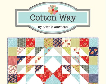 Cozy Quilt Pattern by Bonnie Olaveson for Cotton Way
