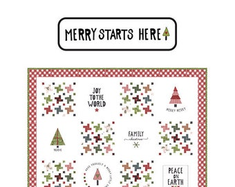 Merry Starts Here Quilt Pattern by Sweetwater