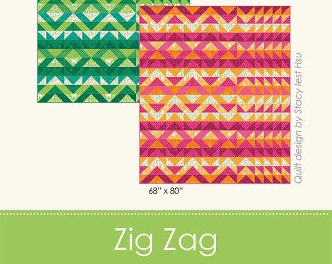 Zig Zag Quilt Pattern by Stacy Iest Hsu