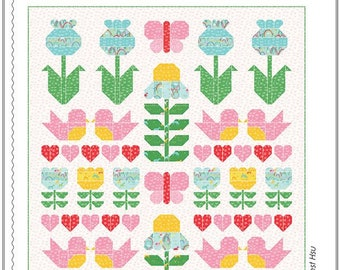 Sweet Romance Quilt Pattern by Stacy Iest Hsu
