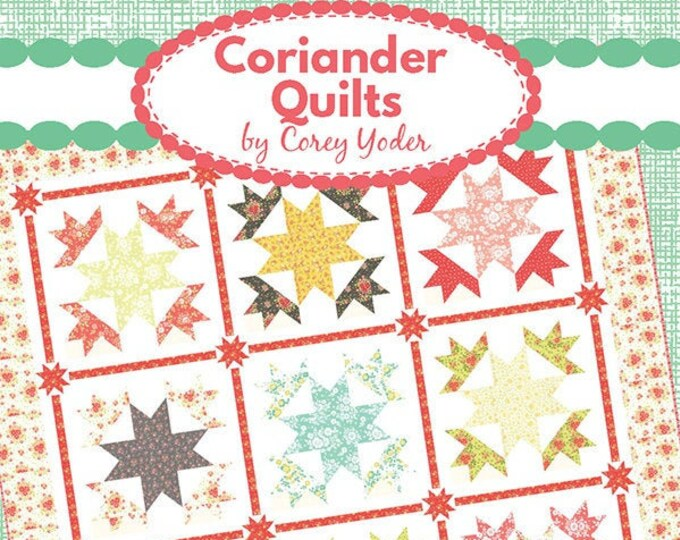 Cotton Frock Quilt Pattern by Coriander Quilts