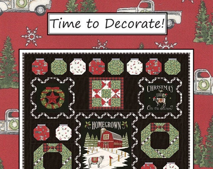 Time To Decorate! Quilt Pattern by Coach House Designs
