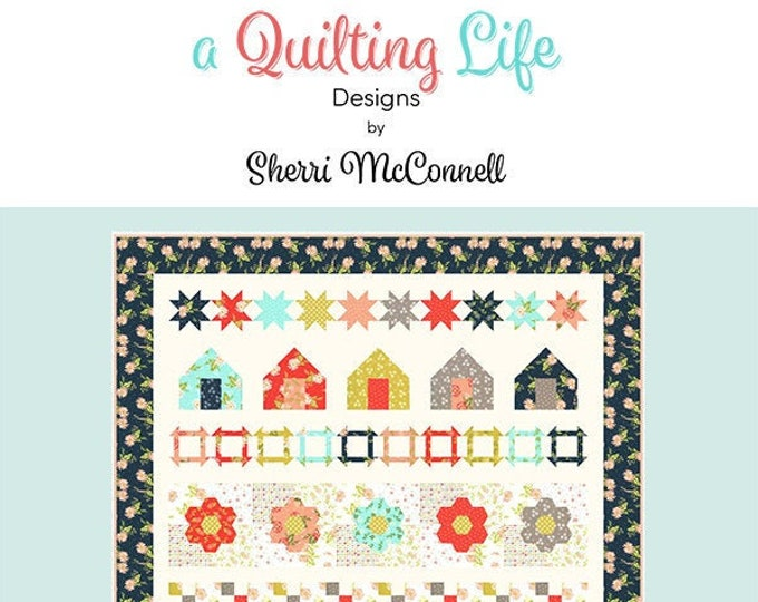 Beach House Quilt Pattern by Sherri McConnell