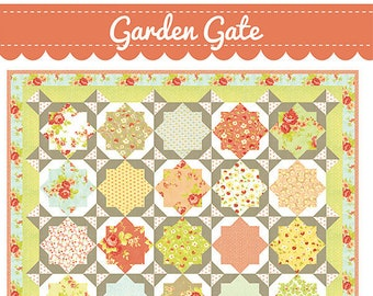 Garden Gate Quilt Pattern by Fig Tree and Co.
