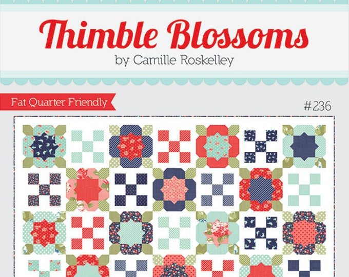 Flower Girl 2 Quilt Pattern by Thimble Blossoms