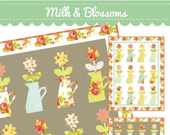 Milk & Blossoms Quilt Pattern by Fig Tree and Co.
